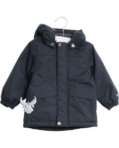 Wheat Shane Jacket Navy Mini